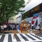 テレビ東京にて